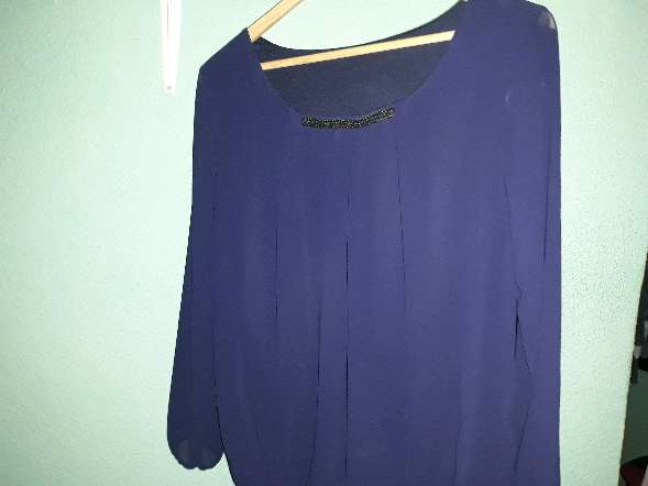 Imagen Blusa azul