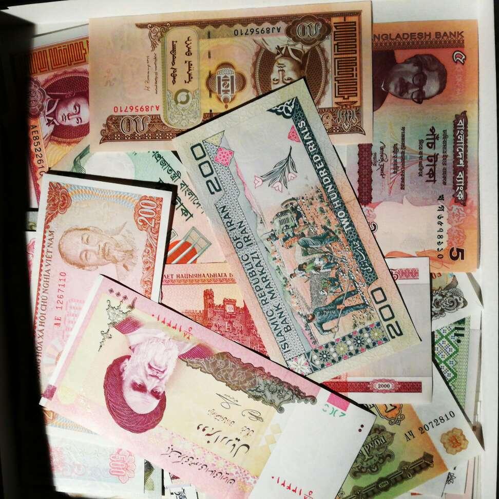 Imagen 150 Banconote Mondiali Fior di Stampa