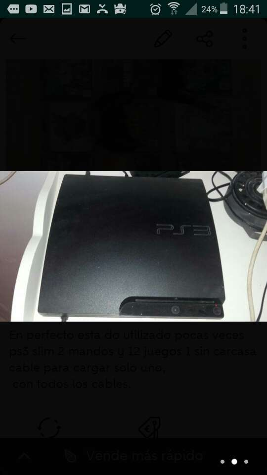 Imagen producto Ps3 500 gb 2 mandos y 12 juegos 2