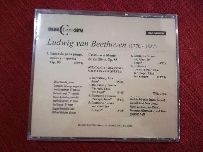 Imagen producto Cd de Beethoven 2