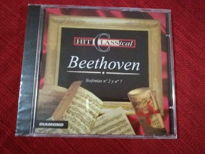 Imagen cd de Beethoven, música clásica