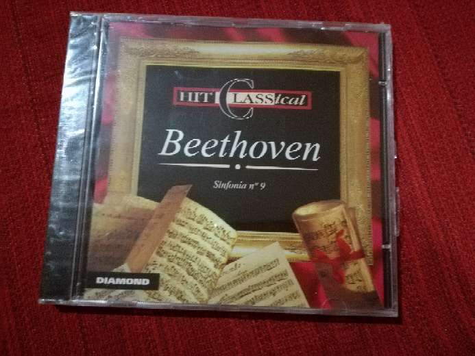 Imagen cd de música clásica de Ludwig Van Beethoven, sinfonía n°9