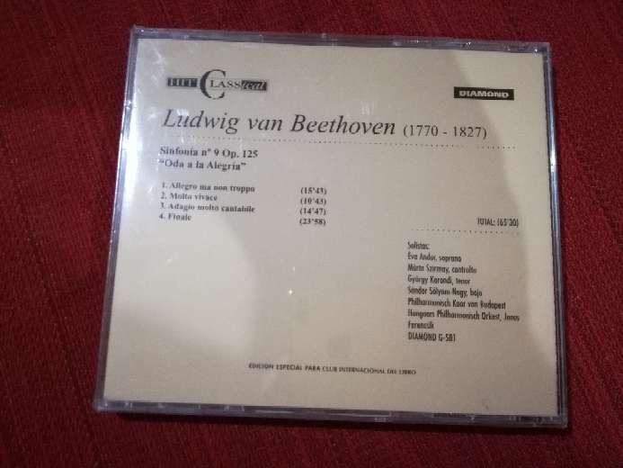 Imagen producto Cd de música clásica de Ludwig Van Beethoven, sinfonía n°9 2