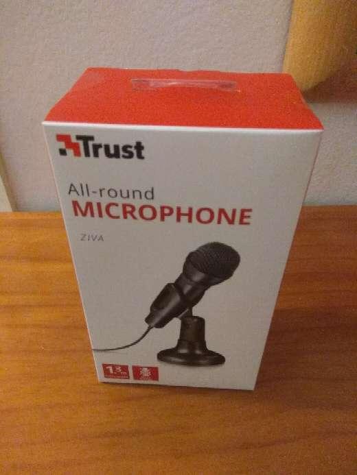 Imagen Nuevo Micrófono con interruptor mute
