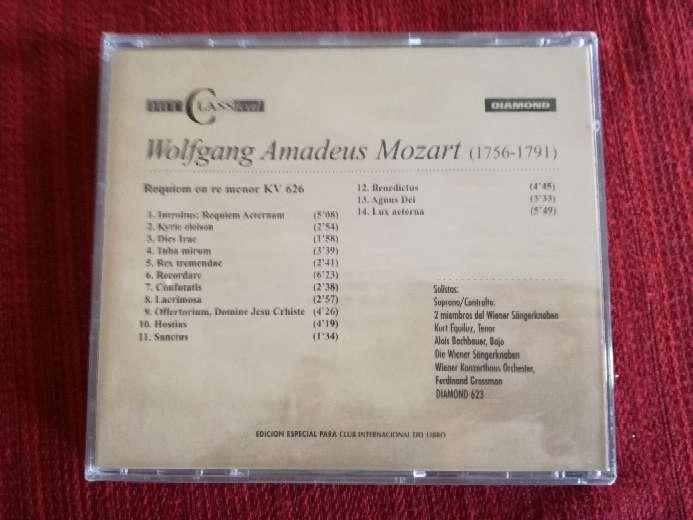 Imagen producto Cd de música clásica de Mozart 2