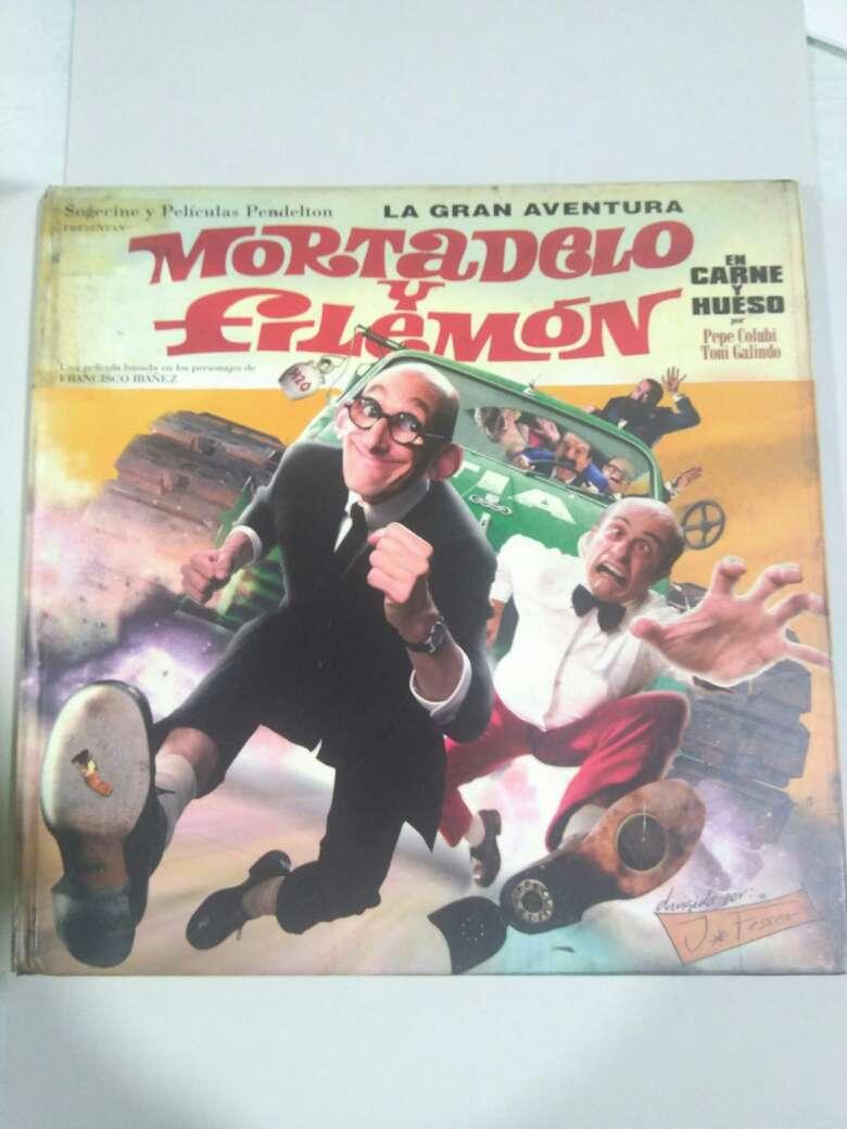 Imagen libro Mortadelo y Filemón