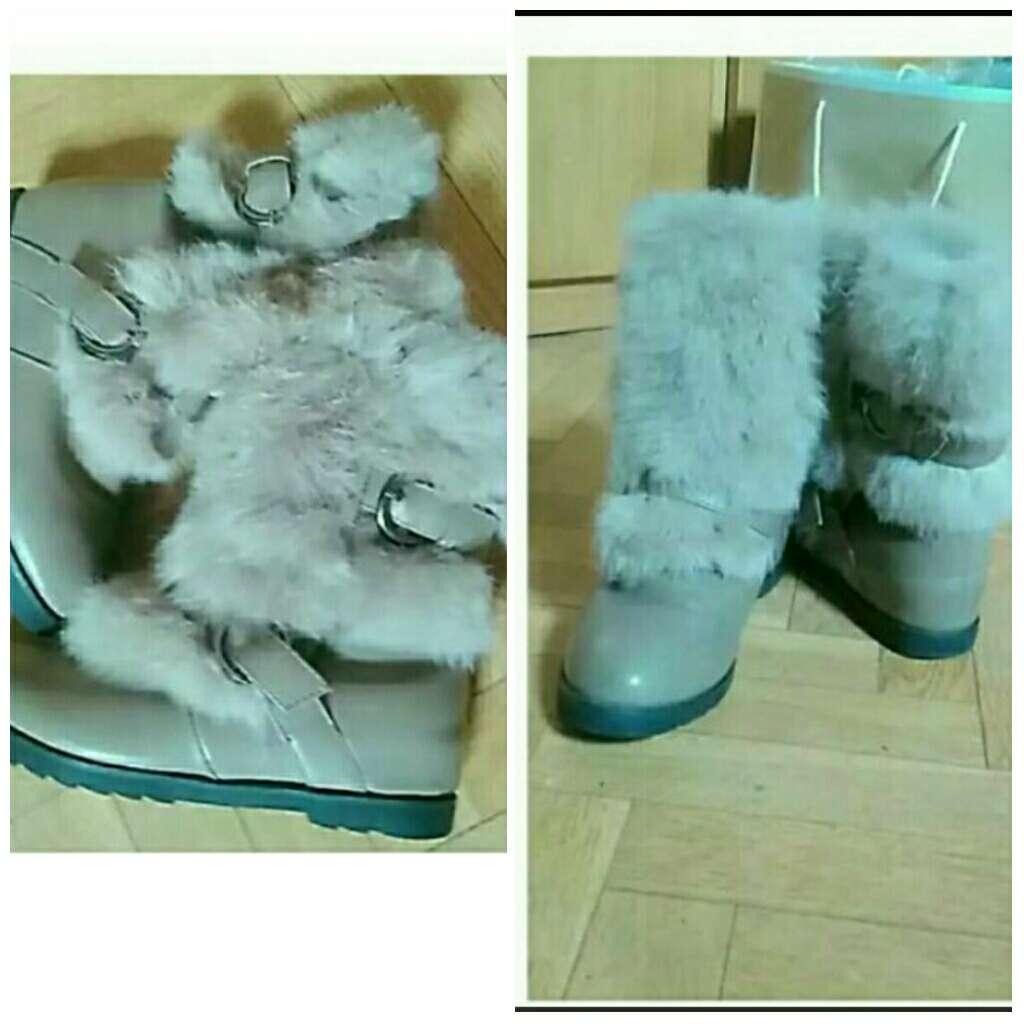 Imagen botas de Niña