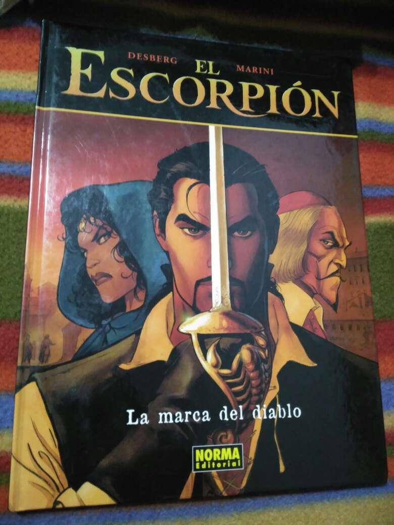 Imagen El Escorpión negro,La marca del diablo
