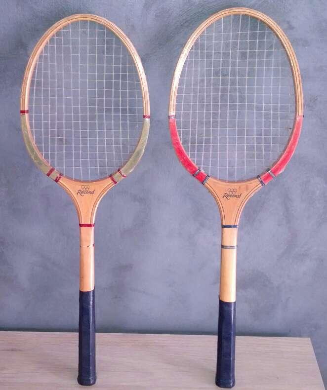 Imagen dos raquetas de tenis