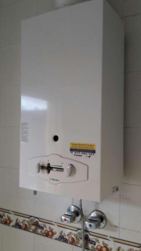 Imagen Termo de gas butano