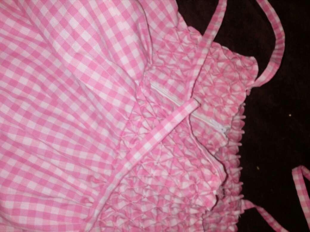 Imagen producto Conjunto de vestido y adorno (para pelo). 4