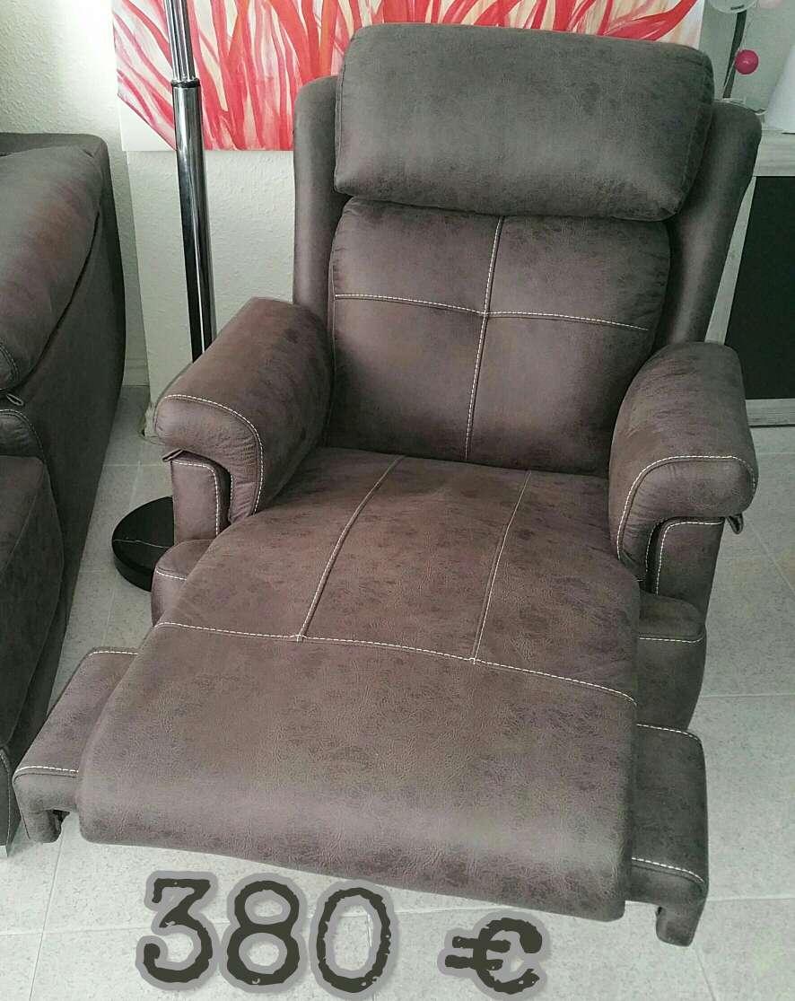 Imagen sillón relax palanca a estrenar