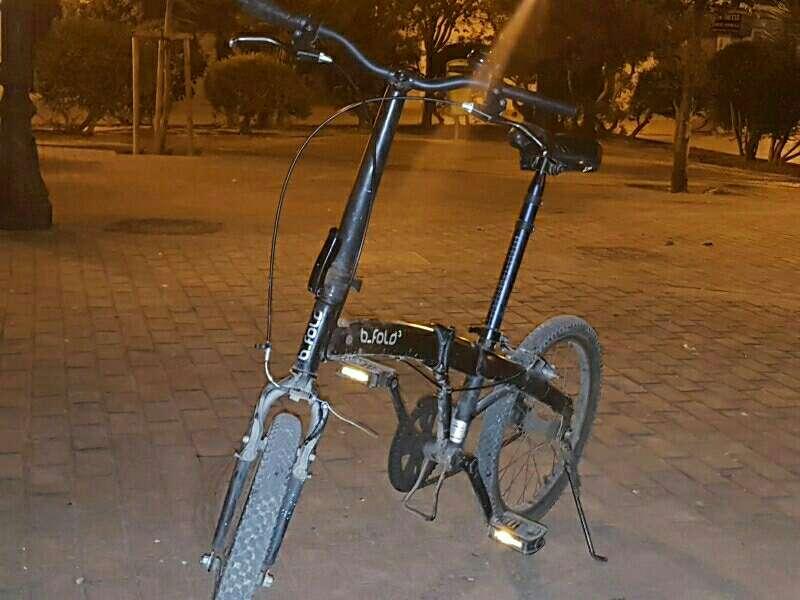 Imagen Bicicleta plegable b-fold