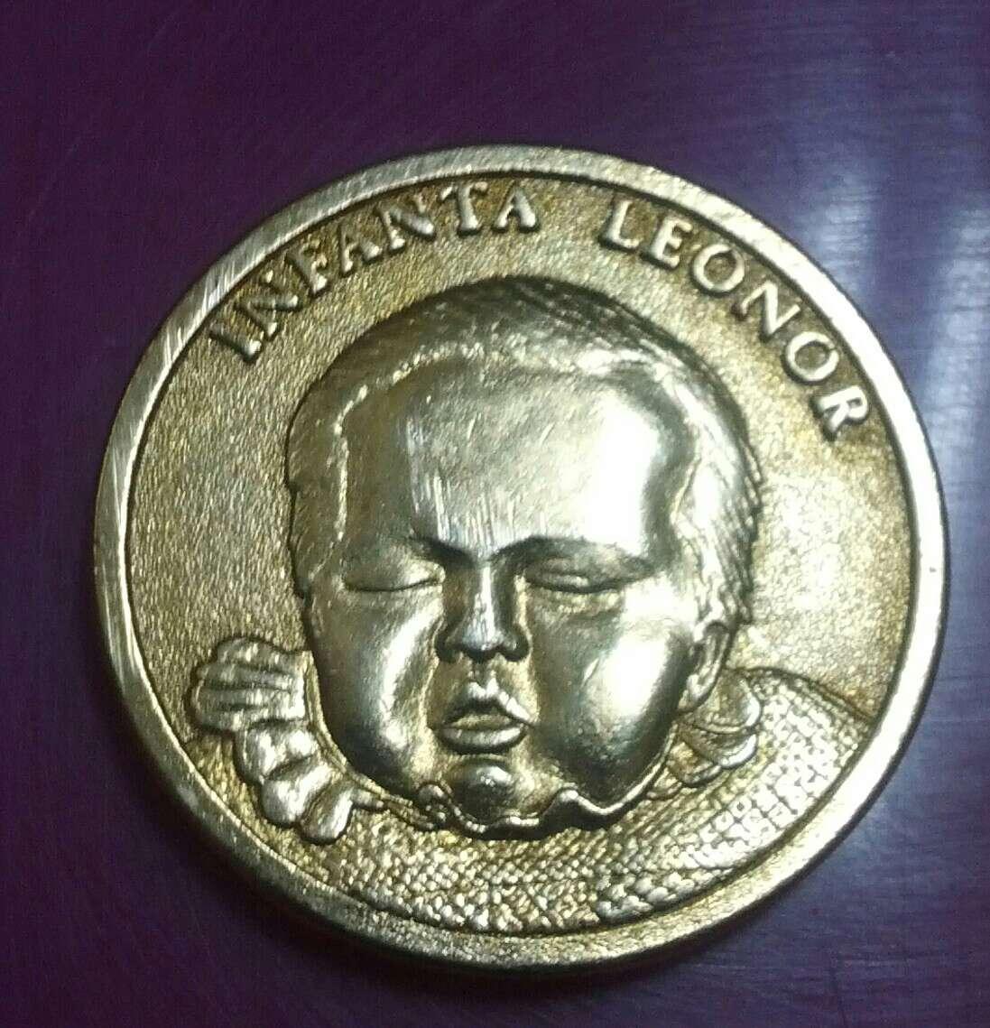Imagen moneda infanta leonor