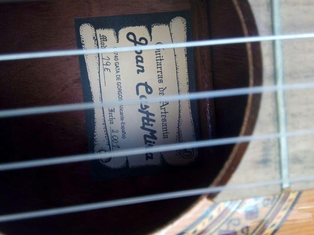 Imagen producto Guitarra Española Joan de cashemira  2