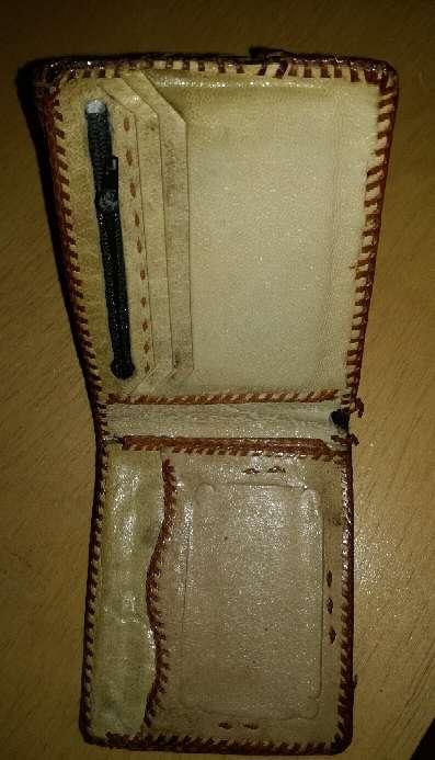 Imagen producto Billetera de piel de serpiente 3