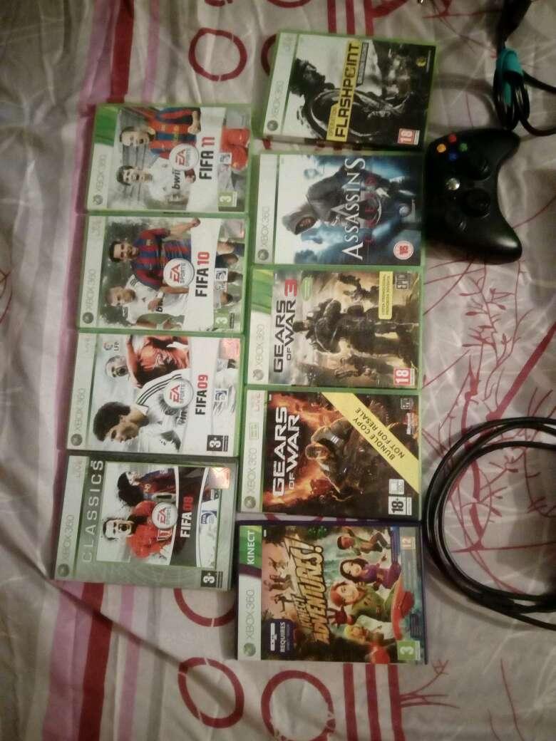Imagen producto Xbox360+kinnect+juegos 3