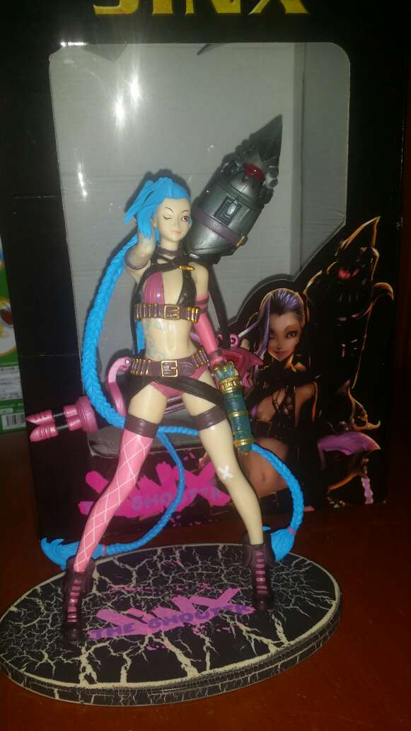 Imagen Figura Jinx League Of Legends Lol