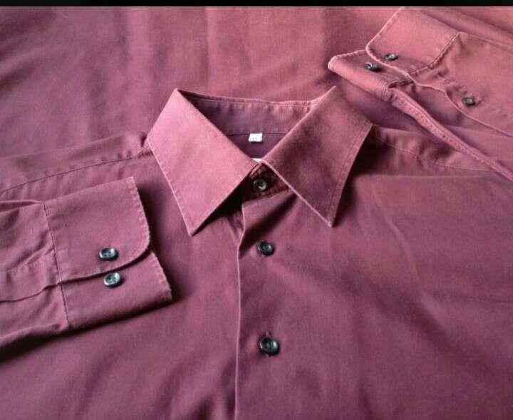 Imagen producto Camisa Burdeos  3
