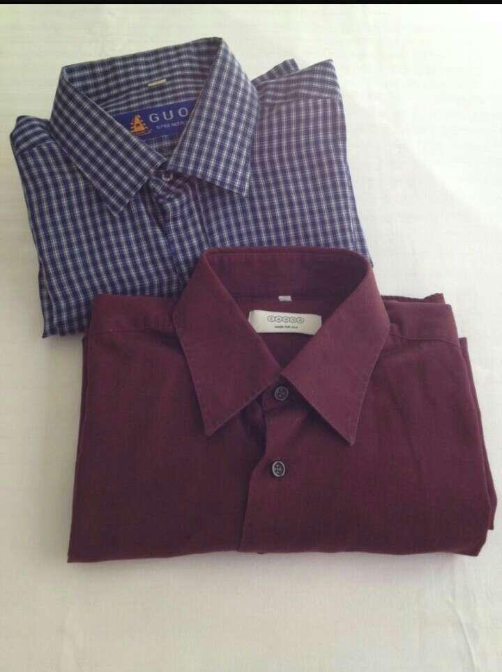 Imagen producto Camisa Burdeos  4