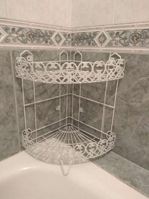 Imagen producto Carrito y esquinera de baño 3