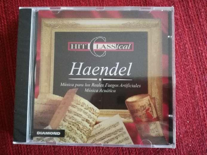 Imagen Cd de música clásica de Haendel