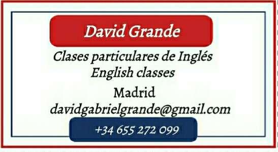 Imagen producto Clases inglés 10€ hora. Traductor/intérprete 2