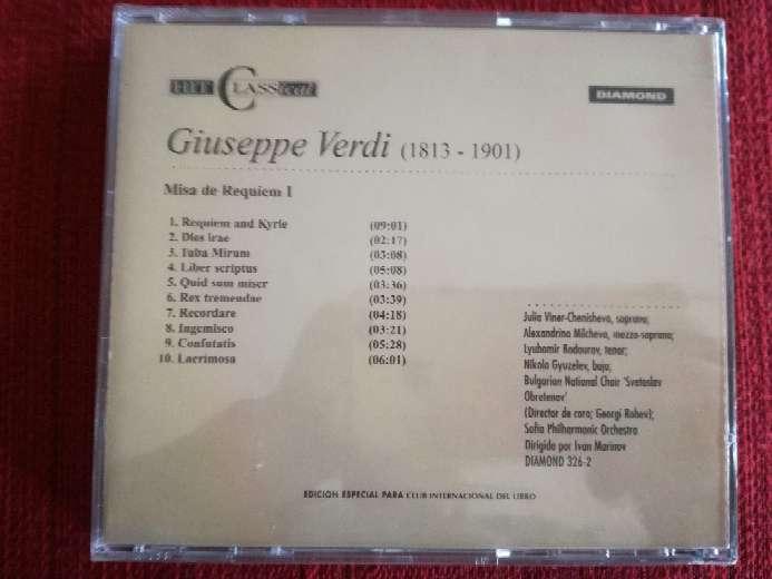 Imagen producto Cd de música clásica de Verdi  2