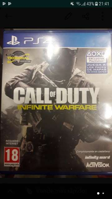 Imagen producto Intercambio Call of Duty Infinitive Warfare PS4 1