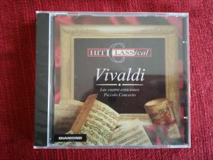 Imagen Cd de música clásica de Vivaldi