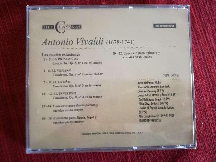 Imagen producto Cd de música clásica de Vivaldi 2