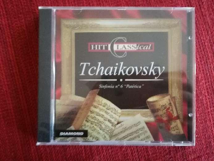Imagen Cd de música clásica de Tchaikovsky