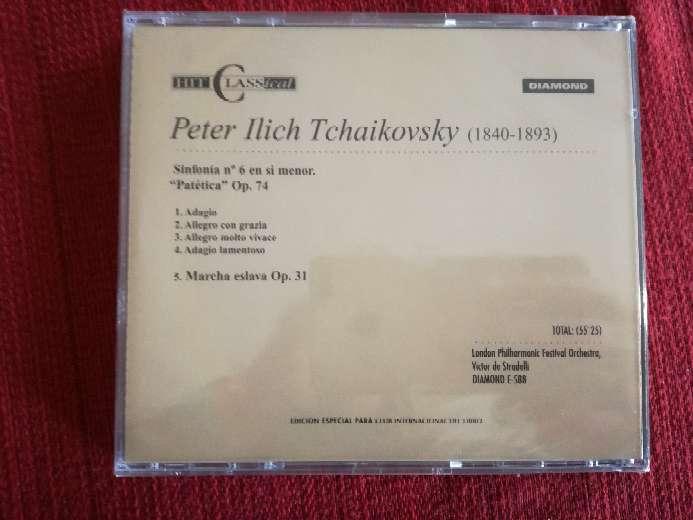 Imagen producto Cd de música clásica de Tchaikovsky  2