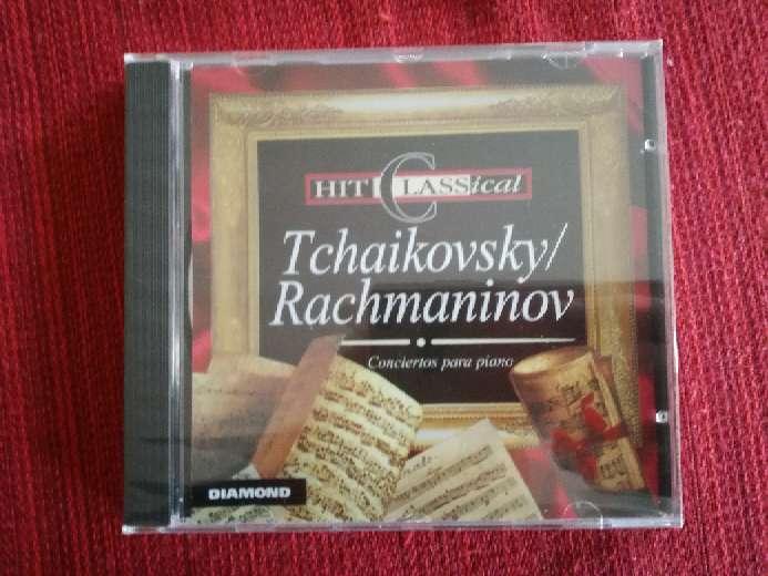 Imagen Cd de música clásica de Tchaikovsky/Rachmaninov