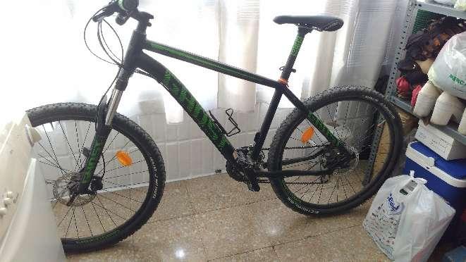 Imagen bicicleta de montaña ghost