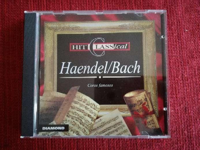 Imagen Cd de música clásica de Haendel/Bach