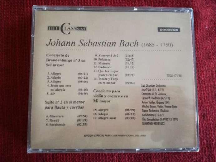 Imagen producto Cd de música clásica de Bach 2