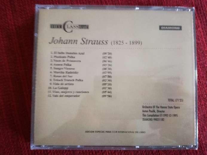 Imagen producto Cd de música clásica de Strauss 2