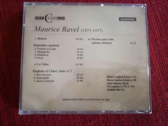 Imagen producto Cd de música clásica de Ravel 2