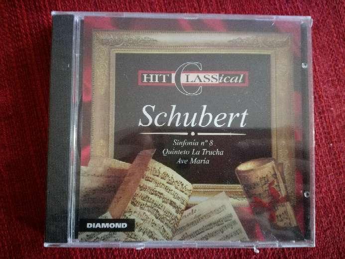 Imagen Cd de música clásica de Schubert