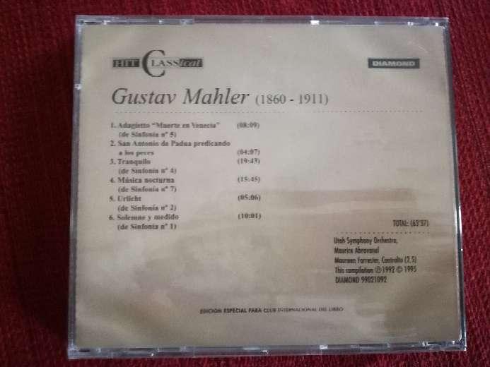 Imagen producto Cd de música clásica de Mahler 2