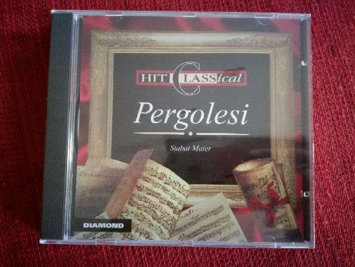 Imagen Cd de música clásica de Pergolesi