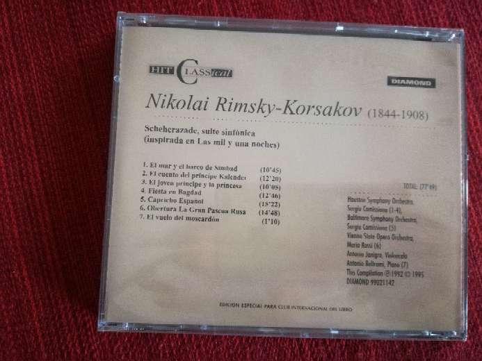 Imagen producto Cd de música clásica de Rimsky-Korsakov 2