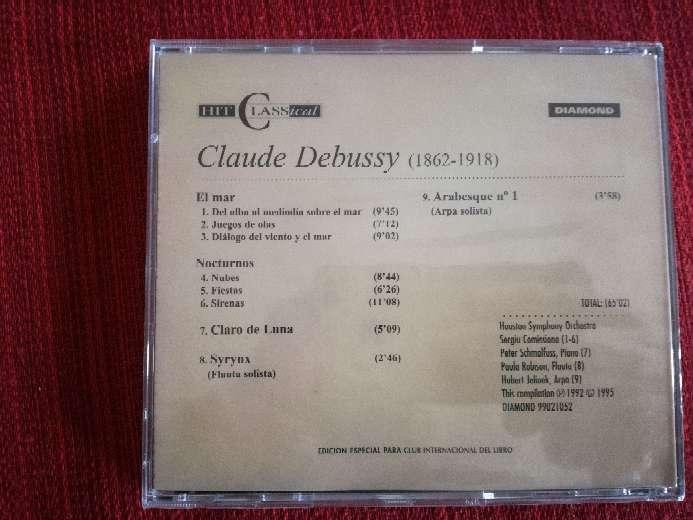 Imagen producto Cd de música clásica de Debussy 2