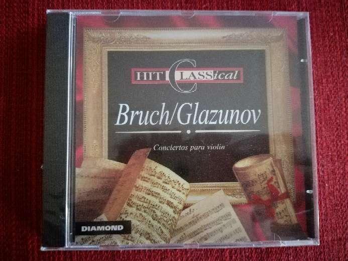 Imagen Cd de música clásica de Bruch/Glazunov