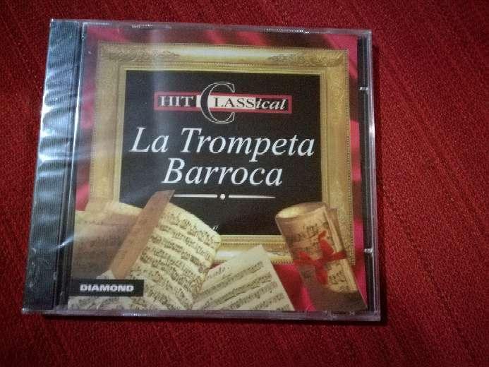 Imagen Cd de música clásica La Trompeta Barroca