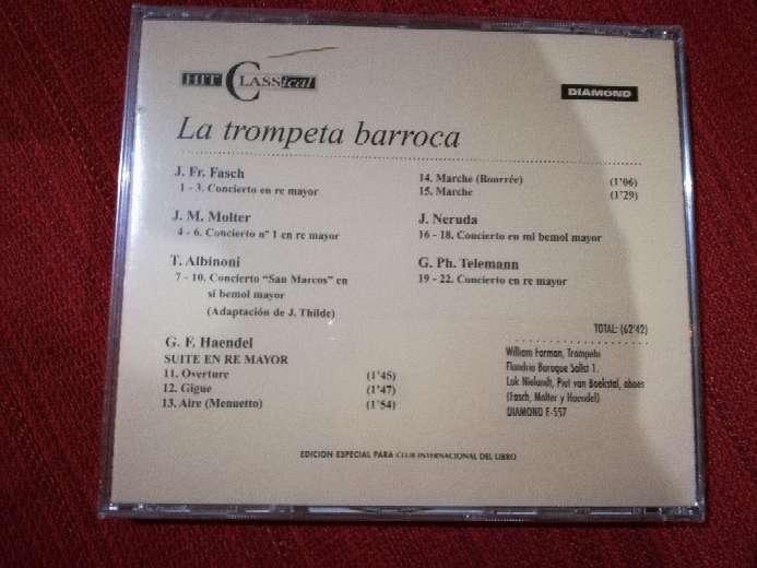 Imagen producto Cd de música clásica La Trompeta Barroca 2