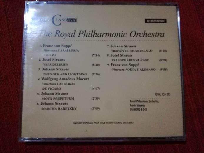 Imagen producto Cd de música clásica The Royal Philharmonic Orchestra 2