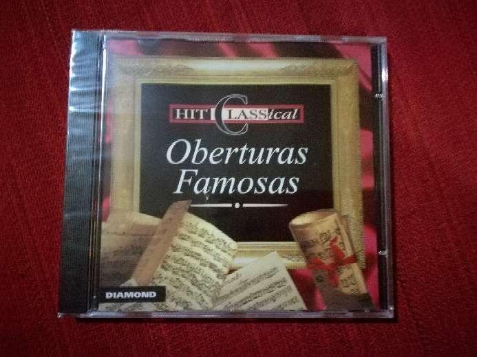Imagen Cd de música clásica Oberturas Famosas