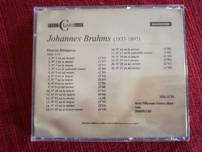 Imagen producto Cd de música de Brahms 2